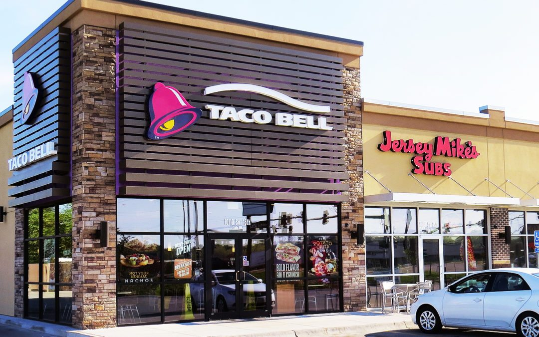 Retail Building with Taco Bell as the main anchor, Bellevue, NE