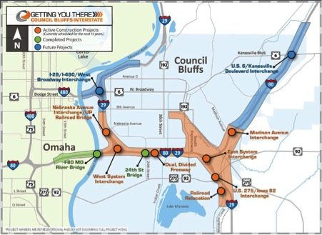 Council Bluffs Interstate System Improvement Program
